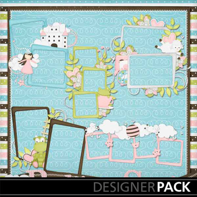 Bedtime-stories-girl-cluster-frames