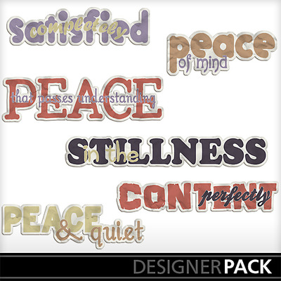 Peaceofmindwordart