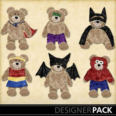 Boo-bear-superheroez