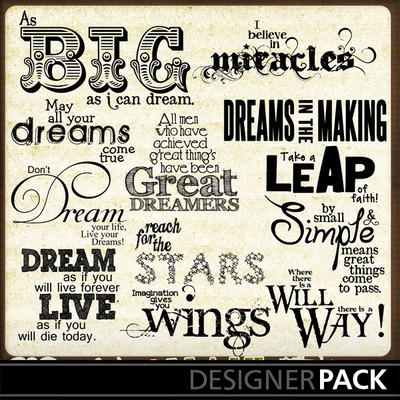Dream_wordart