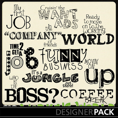 Working-wordart