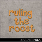 Ruling_the_roost_wooden_monogram_medium