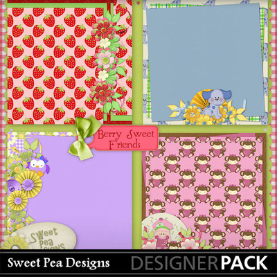 Berry_sweet_friends__stacked_paper