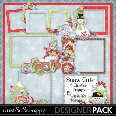 Snow_cute_cluster_frames