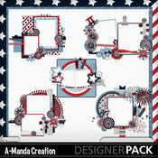 Stars___stripes_cluster_frames_medium