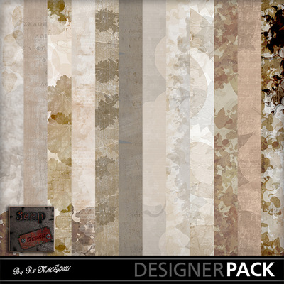 Sepia-flowers-papers