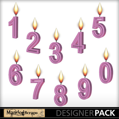 Numbercandlespink-1
