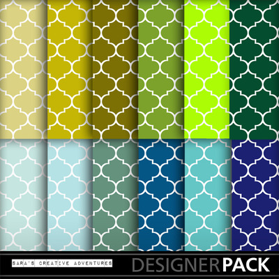Quatrefoil_green_and_blue