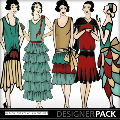 Art_deco_delight_flapper_girls_colored