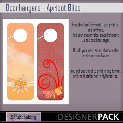 Doorhangers_apricot_bliss