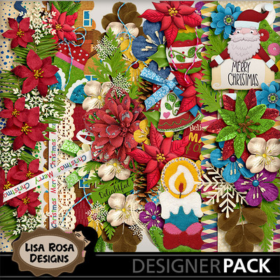 Lisarosadesigns_santaclausiscomingtotown_borders