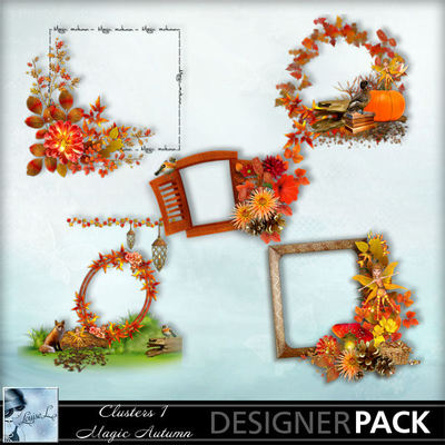 Louisel_clusters1_magicautumn_preview