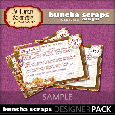 Autumnsplendorrecipecardssample