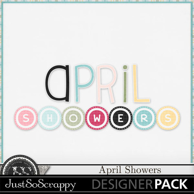 April_showers_alphabets