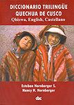 Diccionario trilingüe quechua de cusco
