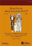 Boletín de arqueología PUCP Nº 11
