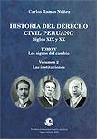 Historia del derecho civil peruano