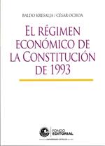 El régimen económico de la Constitución de 1993
