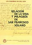 RELACION DE LA VIDA Y MILAGROS DE SAN FRANCISCO SOLANO