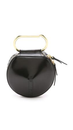 3.1 Phillip Lim Alix Circle Clutch - Black