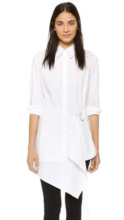 3.1 Phillip Lim Parachute Shirtdress - White