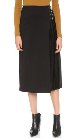 A.L.C. Booth Skirt - Black