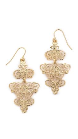 Adia Kibur Maria Earrings - Gold