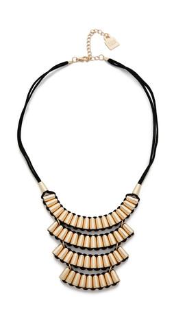 Adia Kibur Tara Necklace - Gold/Black