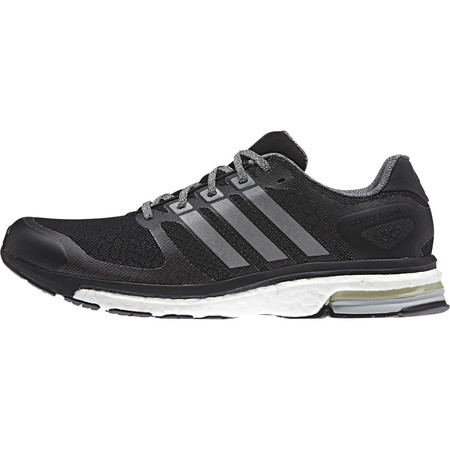 Adidas Adistar Boost Glow Shoes - SS15 - UK 13.5 Black/White