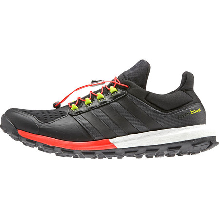 Adidas Adistar Raven Boost Shoes () - UK 7 Black/Red
