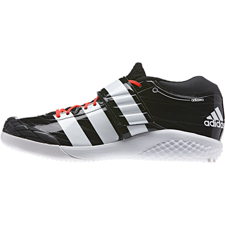 Adidas Adizero Javelin Shoes () - UK 7.5 Black/White/Red