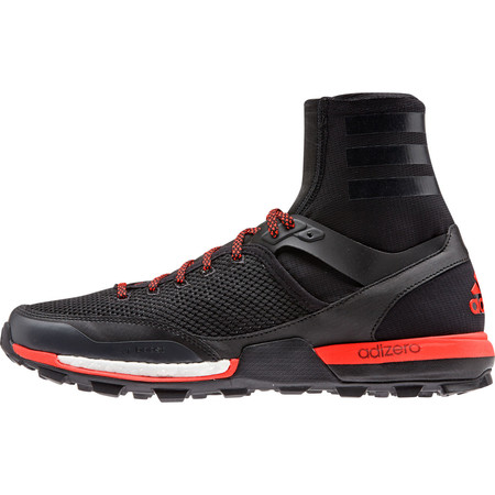 Adidas Adizero XT Boost Shoes () - UK 11.5 Black/Grey/Red