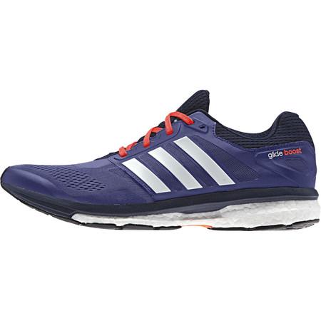 Adidas Supernova Glide 7 Shoes - SS15 - UK 11.5 Purple/White