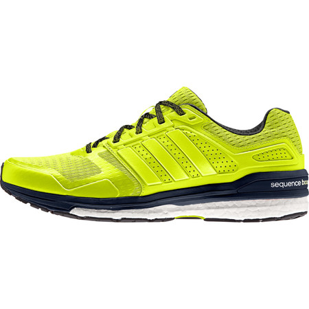 Adidas Supernova Sequence Boost 8 Shoes () - UK 9.5 Yellow/Navy