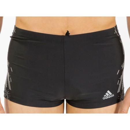 """Adidas Tech Boxer  - 34"""" Black/Iron | Adult Swimwear"""