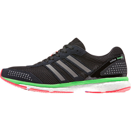 Adidas Women's Adizero Adios Boost 2 - SS15 - UK 5.5 Black/Red/Green