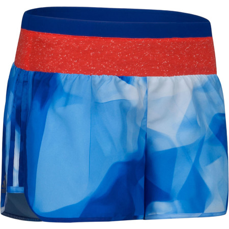 Adidas Women's Aktiv G Short - SS15 - Large Blue | Running Shorts
