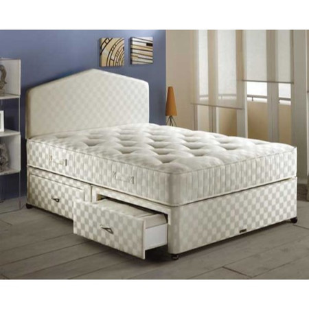 Airsprung Ortho Pocket 1200 Divan and Mattress Set - double with platform base