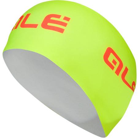 Alé Fleece Headband - One Size Fluro Yellow/Orange   Cycle Headwear