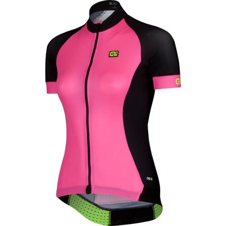 Alé Women's PRR 2.0 Short Sleeve Jersey - Small Fluro Pink/Black