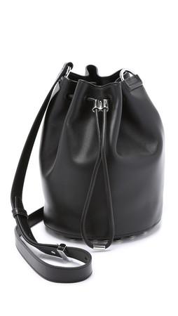 Alexander Wang Alpha Bucket Bag - Black