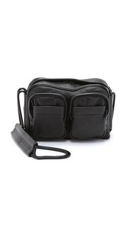 Alexander Wang Brenda Chain Bag With Covered Zips - Black