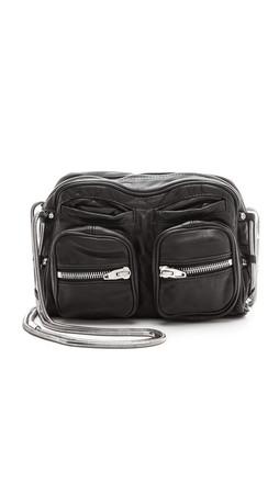 Alexander Wang Brenda Chain Shoulder Bag - Black