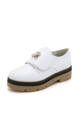 Alexander Wang Dillon Platform Oxfords - Sterile
