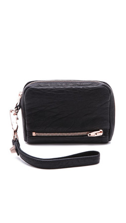 Alexander Wang Fumo Wallet Clutch - Black