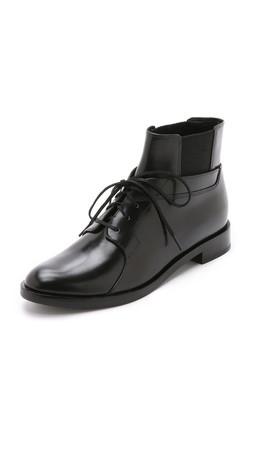 Alexander Wang Kenza Ankle Booties - Black