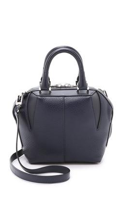 Alexander Wang Mini Soft Emile Cross Body Bag - Navy