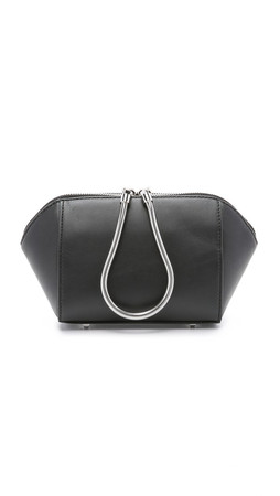 Alexander Wang Small Chastity Clutch - Black