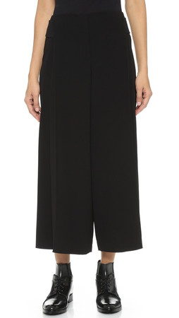Alexander Wang Wide Leg Pants With Belt - Nocturnal