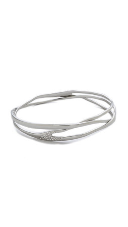 Alexis Bittar Liquid Bangle Bracelet - Silver